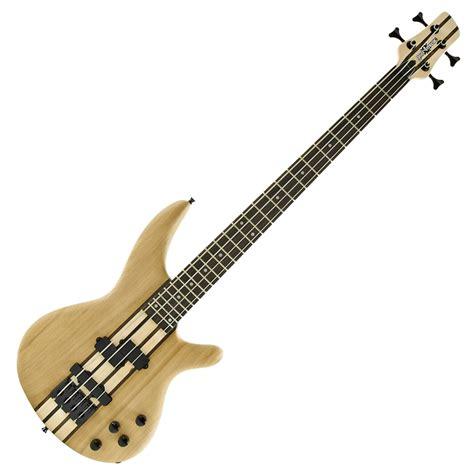 Jpin Neck Gitar Bass oregon neck thru bass guitar by gear4music b stock at gear4music