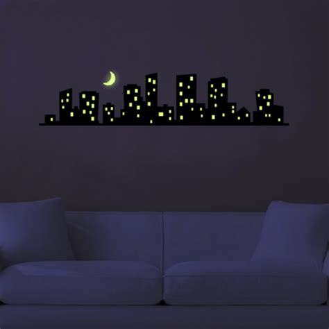 Glow In The Dark Wall Stickers Stars glow in the dark wall art cool cheap but cool diy wall