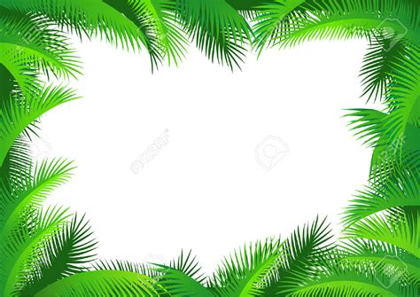 jungle clip vine clipart jungle leaves background pencil and in