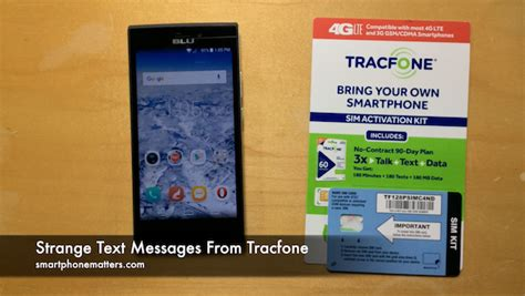 Tracfone Phone Number Lookup Strange Text Messages From Tracfone Smartphonematters