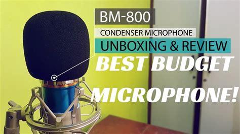 condenser microphone best budget bm 800 condenser microphone unboxing review best budget microphone