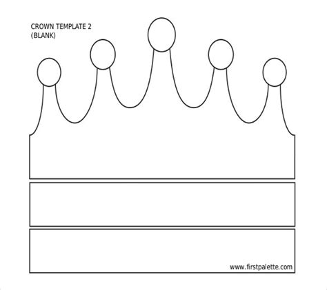 template of crown 14 paper crown templates free sle exle format