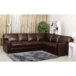 Abbyson Living Sofa White Painted Living Room Wall With L Shaped Dark Brown