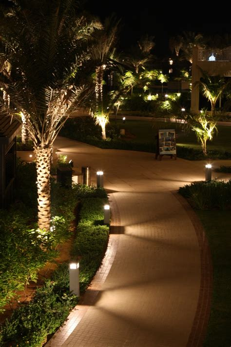 Outdoor Lighting Backyard Landscape Lighting