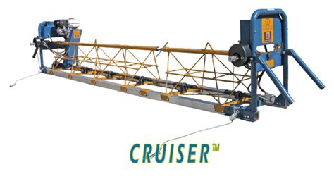Concrete Truss Screed cruiser vibratory truss screed metal forms concrete construction forms