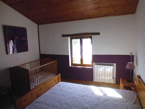 peinture violette chambre d 233 coration chambre violette gite de courtillas