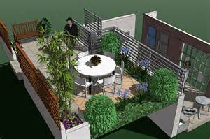 Small Terrace Garden Design Ideas Small Terrace Design Home Decorating Ideas