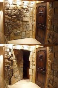 Bookcase Doorway 17 Best Ideas About Hidden Rooms On Pinterest Secret