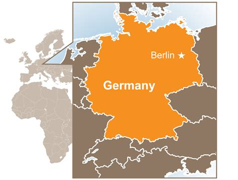 germany map images germany climate map