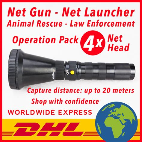 net guns usa fr 487 free dhl delivery net co2 case