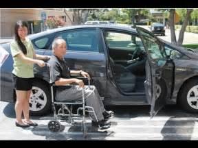 caregiver tips wheelchair to car transfer