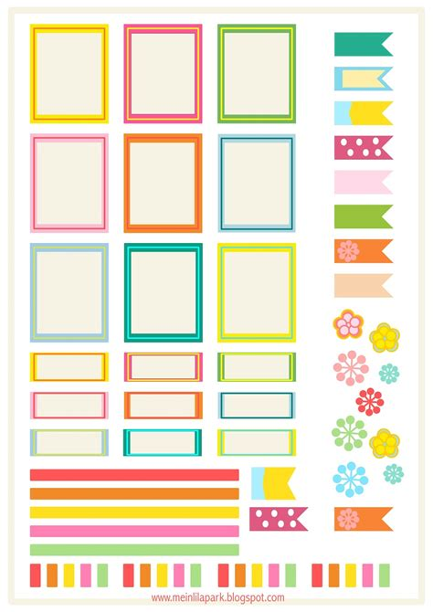 printable planner labels free printable bright planner stickers ausdruckbare