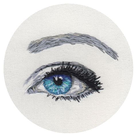 embroidery design eyes embroidered eye www sparklymouse co uk art pinterest