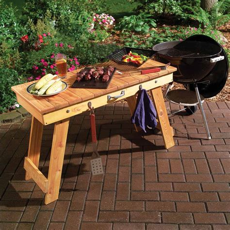 Transportable Fold Up Grill Table ? The Family Handyman