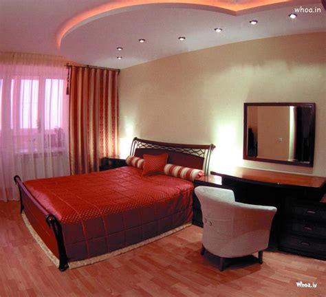 red branded leather bedroom design ideas
