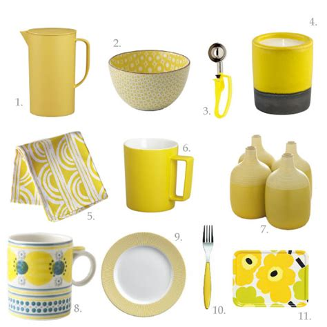Bright Yellow Accessories by Chocolate Shavings Jenn S Favourite Kitchen Things