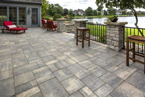 Unilock Pavers Reviews Stunning Flagstone Alternatives For Natural Looking