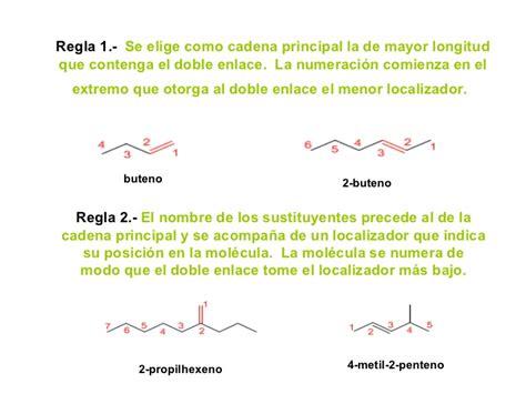 cadena carbonada enlace simple qu 237 mica org 225 nica nomenclatura