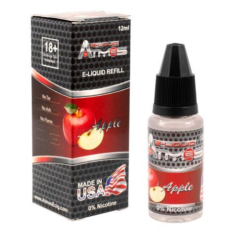 E Liquid Bacco Tobacco Usa Vape Original Usa 4 In 1 atmos e liquid juice zero nicotine usa vape pen eliquid ejuice vaporizer flavors ebay