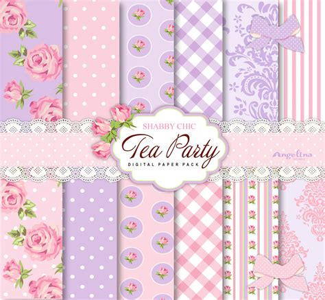 Kaligrafi Shabby Chic Pink 12 shabby chic tea pink and lilac digital scrapbook