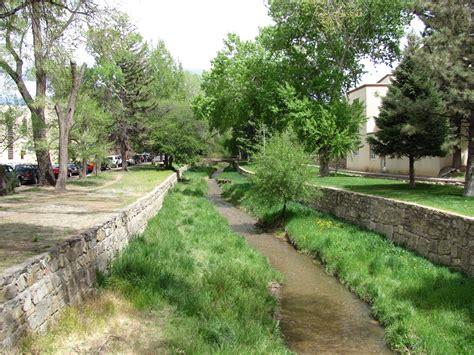 santa fe park file santa fe river park channel from the don gaspar