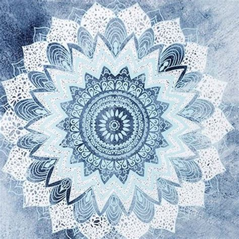 blue pattern tapestry bohemian tapestry in blue white bohemian pants
