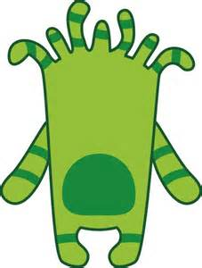 monster template printable clipart best