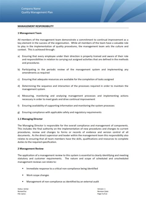 quality management plan template quality auditor resume 11 unique staff auditor resume