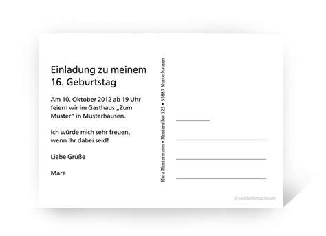 Postkarte Einladung Drucken by Einladungskarten Gestalten Fotokarte Einladung