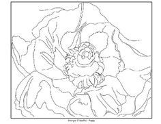 O Keeffe Coloring Pages by O Keeffe On O Keefe And