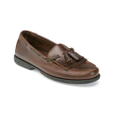 kiltie loafers sperry top sider tremont kiltie tassel loafers in brown