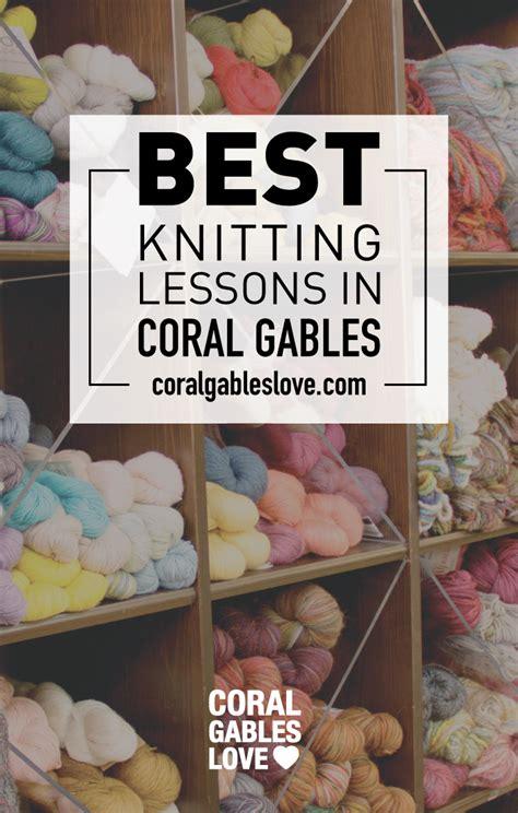 knitting lessons knitting lessons at the knitting garden coral