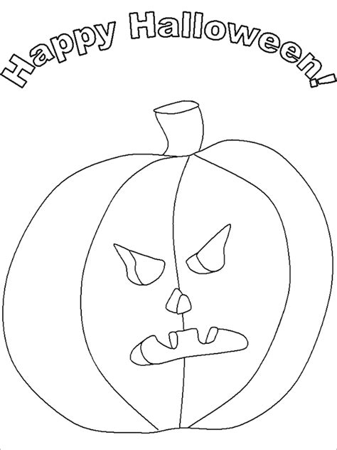 20 Halloween Coloring Pages Pdf Png Free Premium Templates Templates For Pages Free