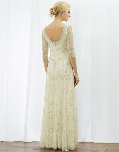 Dress Elisa eliza bridal dress ivory monsoon wedding dresses