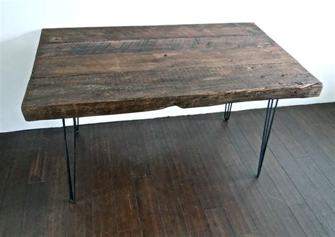 wood desk 33 stunning reclaimed wood desks