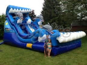 Backyard Pool Toys 2015 New Pool Water Slide Outdoor Toys High