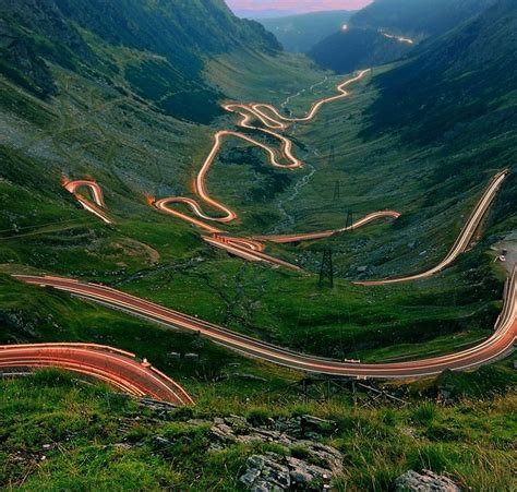 The Road To Beyatch Land Is And Winding 2 by Winding Mountain Road In Romania Romania Is A