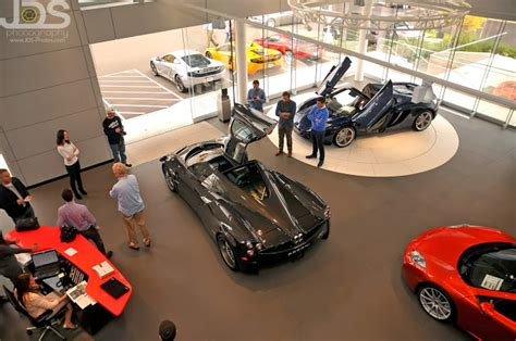 pagani dealership prototype 0 miller motorcars became official pagani