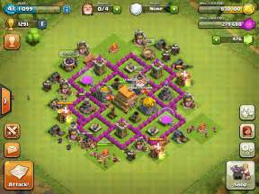 Th6 clan war base clash of clans wiki