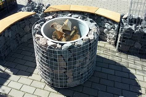 Decorate Apartment fire in stone concrete amp metal designer fire pits home