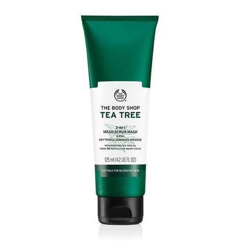 Scrub Tea Tree Shop tea tree 3 in 1 wash scrub mask