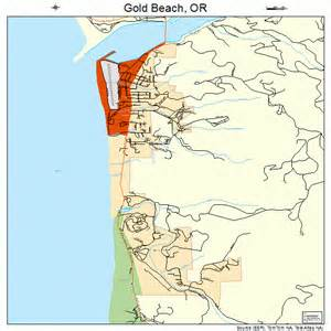 gold oregon map 4129900