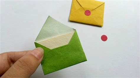 How To Make Small Paper Envelopes - how to create miniature envelopes diy crafts