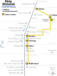 Las Vegas Tram Map by Las Vegas Monorail Route Map Pictures To Pin On Pinterest
