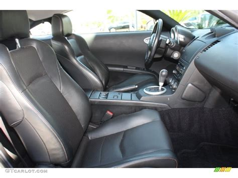 2005 Nissan 350z Interior by 2005 Nissan 350z Touring Coupe Interior Color Photos