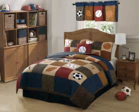sports bedding twin full size kids and boys sports bedding