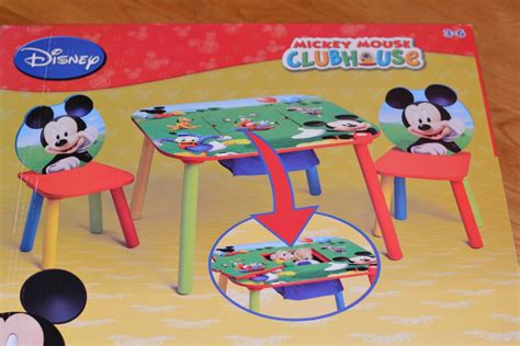 mickey mouse table and chair set delta children mickey mouse table and chair set