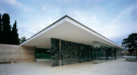 Pavillon Mies Der Rohe by Mies Der Rohe Pavilion Monuments In Barcelona At