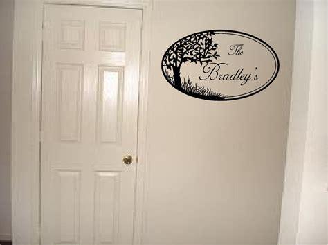 personalized family  wall sticker wall art decor vinyl