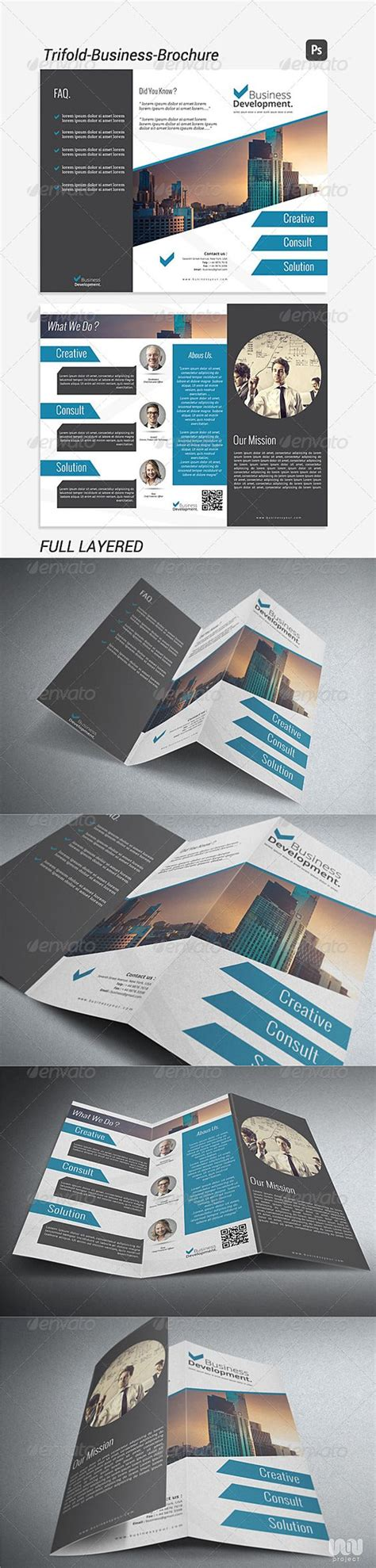 brochure templates for photoshop cs3 pinterest the world s catalog of ideas
